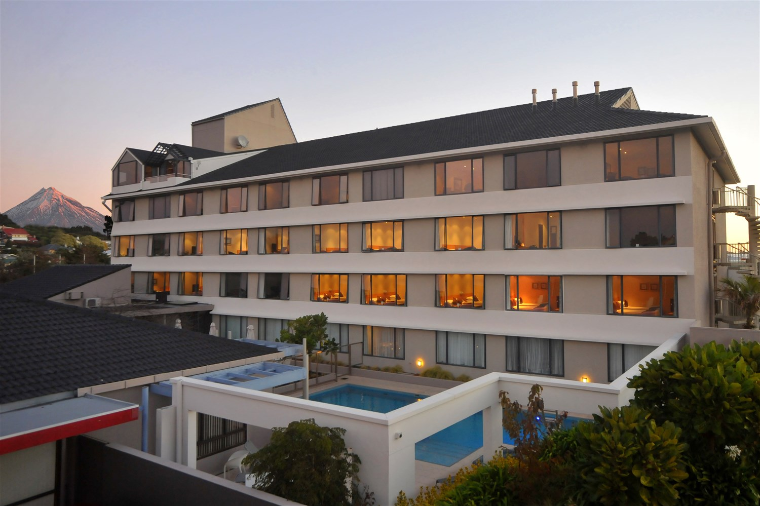 Quality Hotel New Plymouth Restaurant