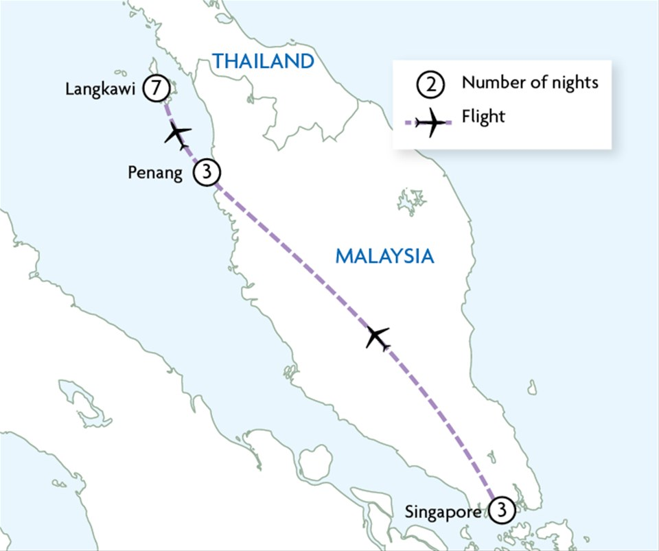 Absolute Luxury Singapore & Malaysia | Touring with Trailfinders