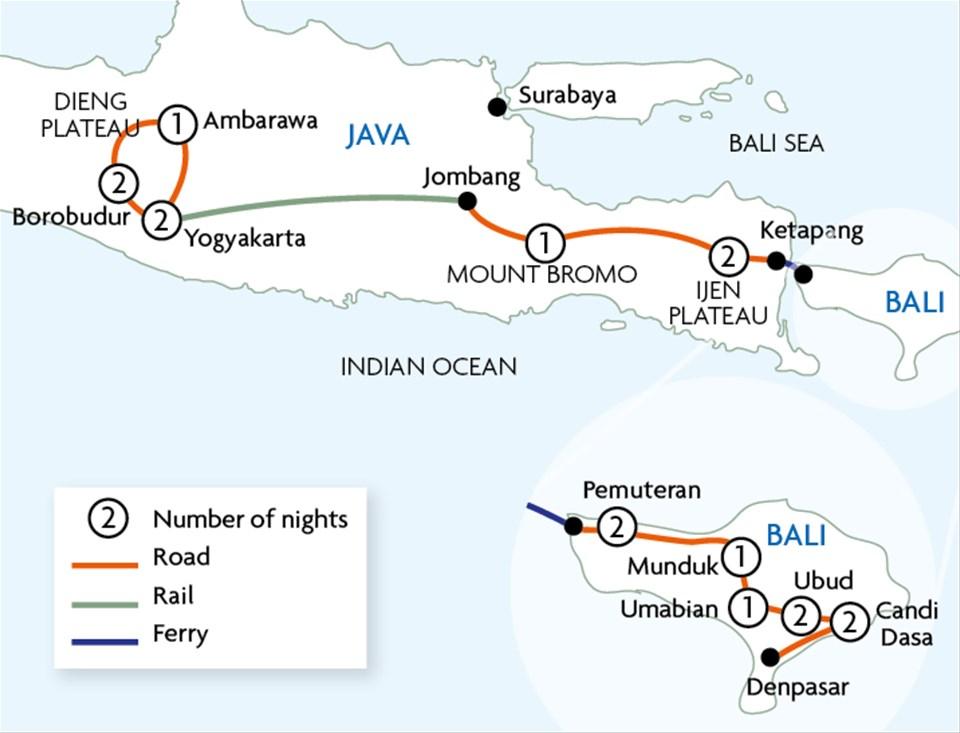 Best of Java & Bali