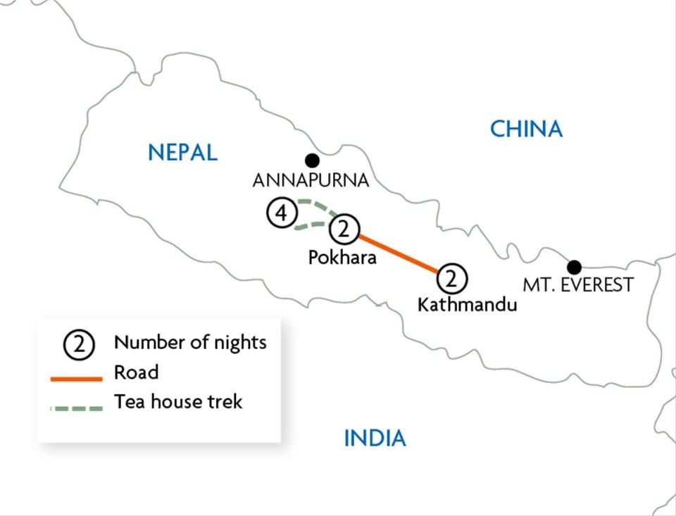 Annapurna Tea House Trek