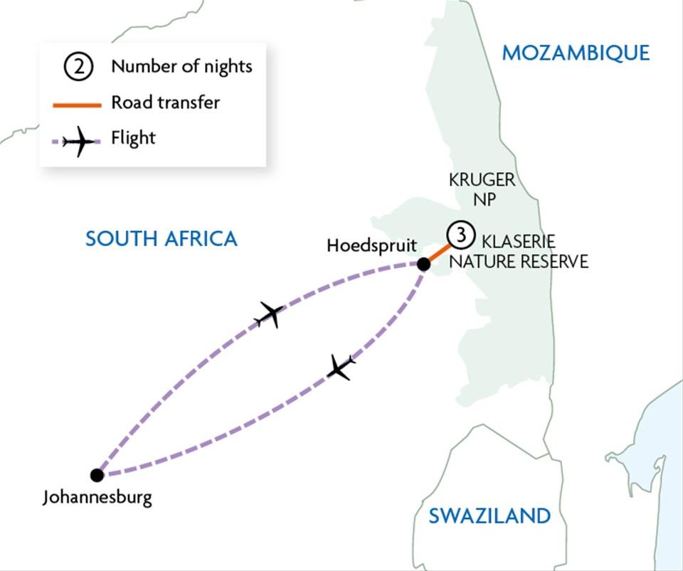 Greater Kruger National Park Tour   Trailfinders
