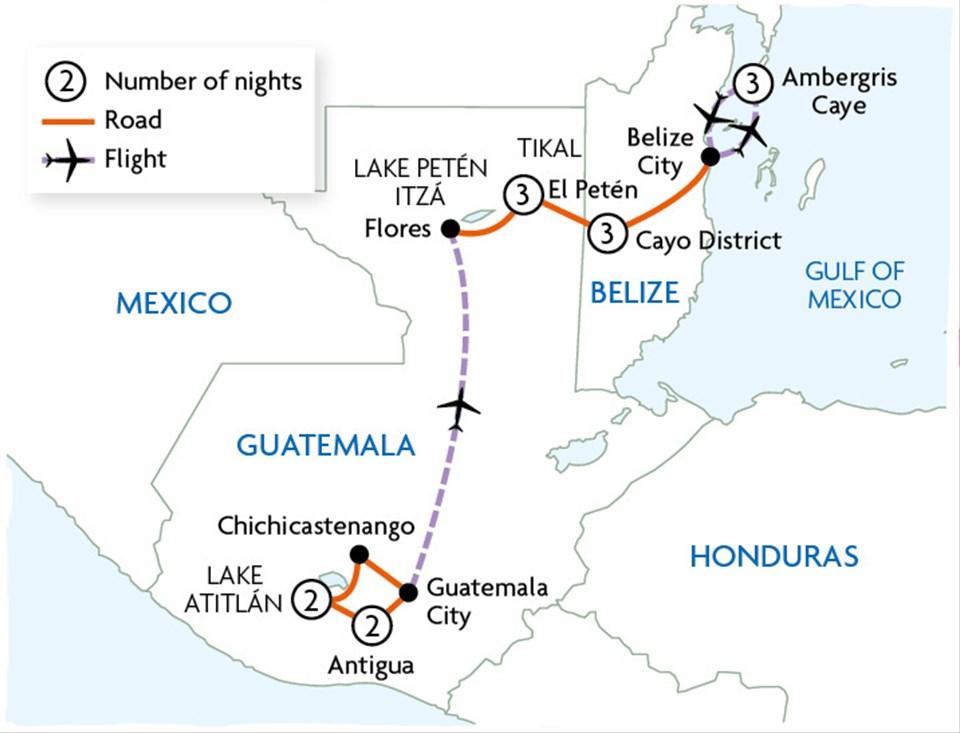 Mayan Trails of Guatemala & Belize