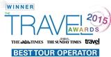 The Times, The Sunday Times & The Sunday Times Travel Magazine Awards 2015