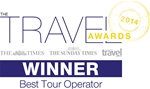 The Times, The Sunday Times & The Sunday Times Travel Magazine Readers Awards 2014