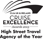 CLIA UK & Ireland Cruise Excellence Awards 2015