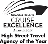 CLIA UK & Ireland Cruise Excellence Awards 2015