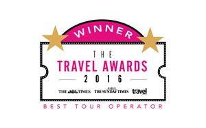 The Times, The Sunday Times & The Sunday Times Travel Magazine Awards 2016