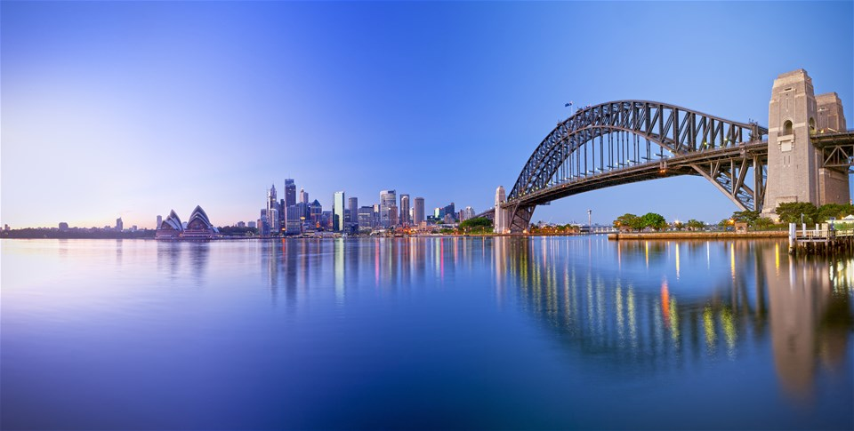 Sydney & beyond - from waterfront to wineries