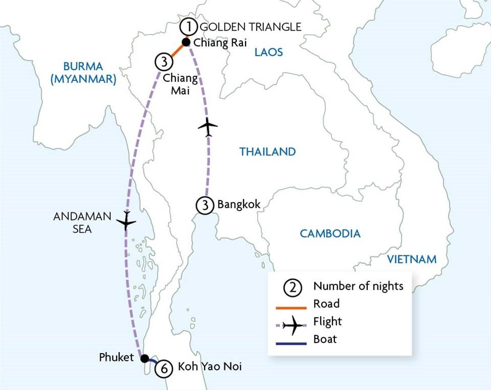 Essential Thailand & Koh Yao Noi