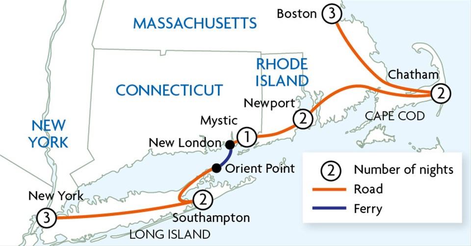 Maritime New England New York Tour Trailfinders