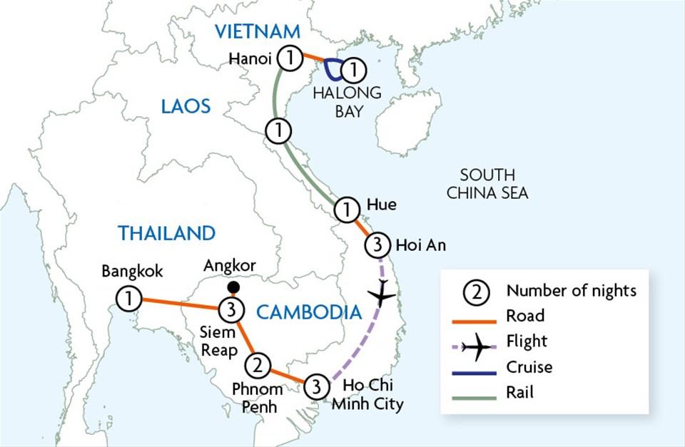 Essential Vietnam & Cambodia