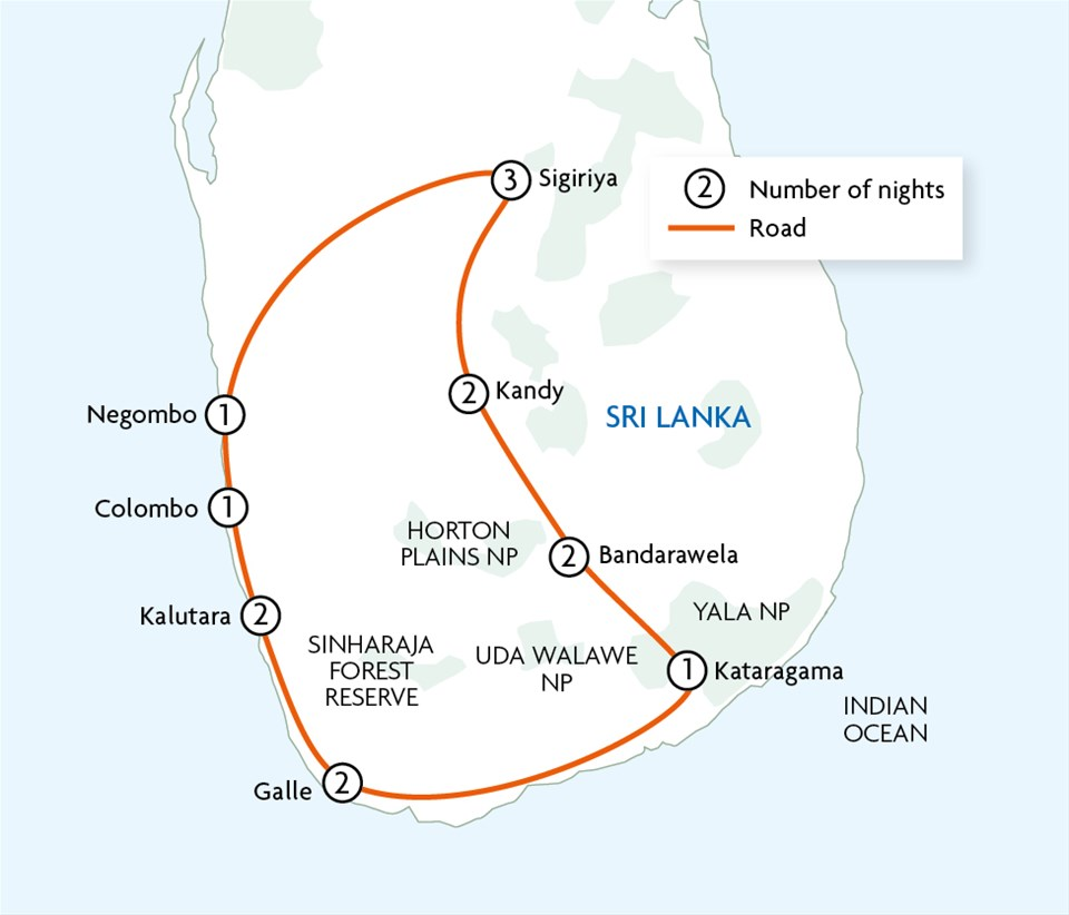 Classic Sri Lanka  Peregrine  Touring with Trailfinders