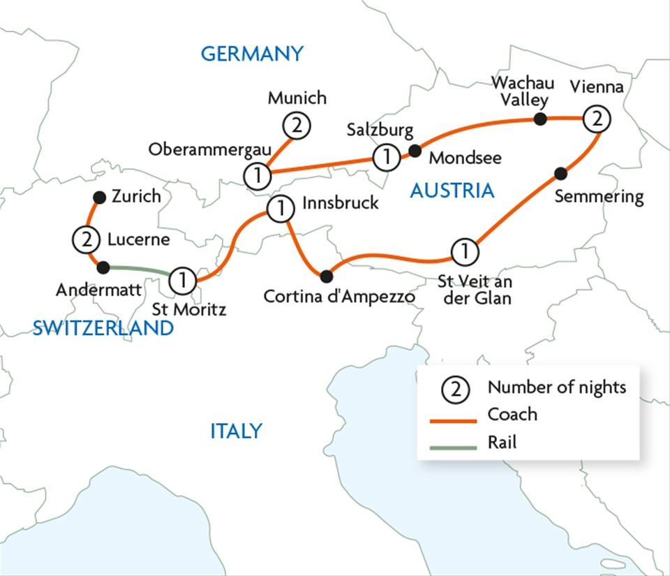 Car Hire From Vienna To Salzburg