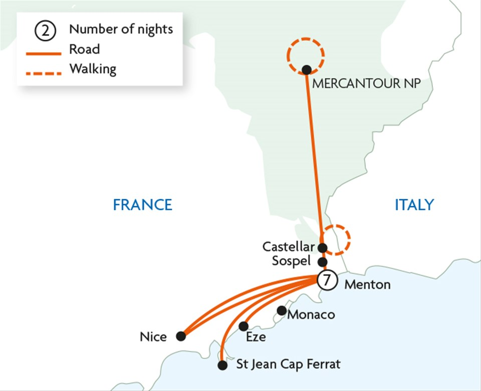 Walks & Gardens of the French Riviera