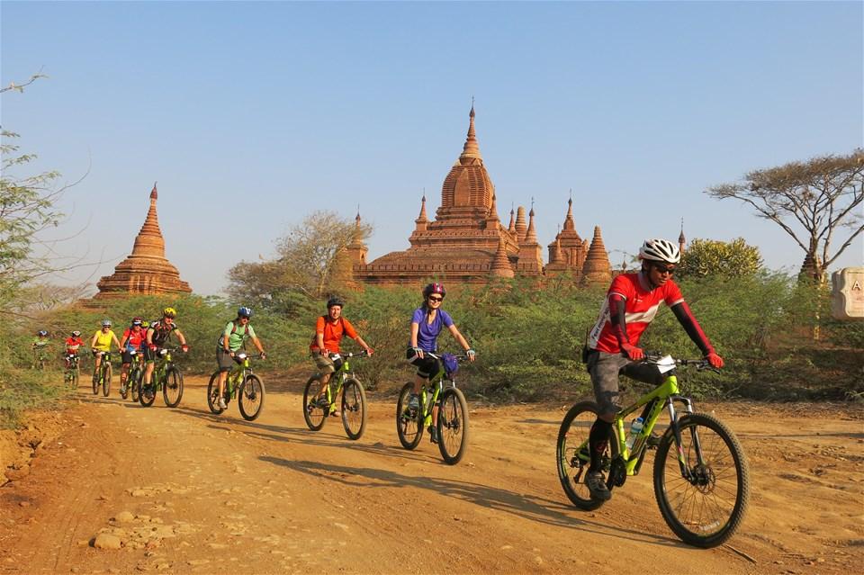 Bike Touring Burma