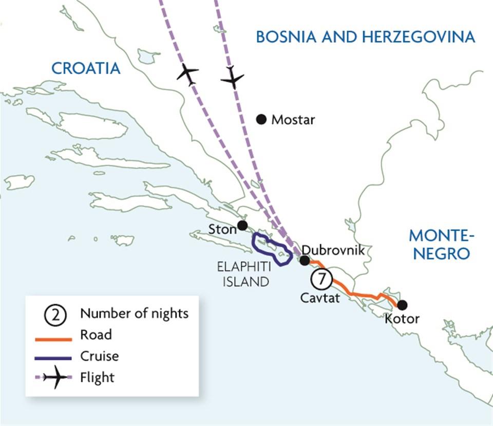 Deluxe Dubrovnik & the Dalmatian Coast
