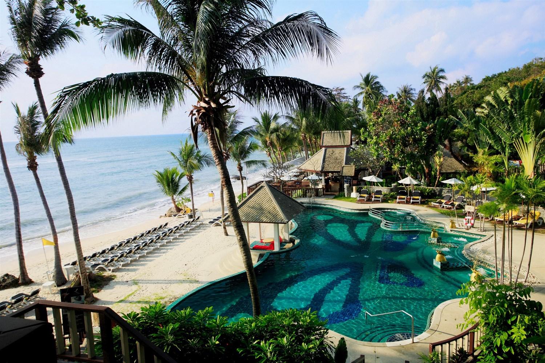 Centara villas samui koh samui koh phangan koh tao for Koh tao cabana koi pool villa