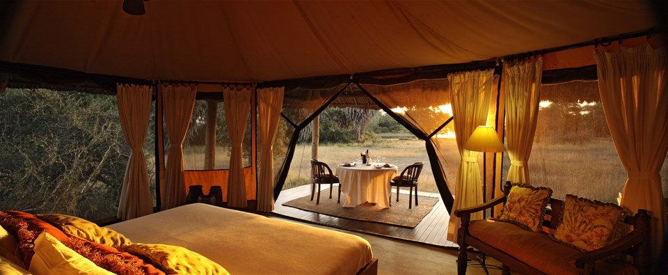 hotels in selous game reserve