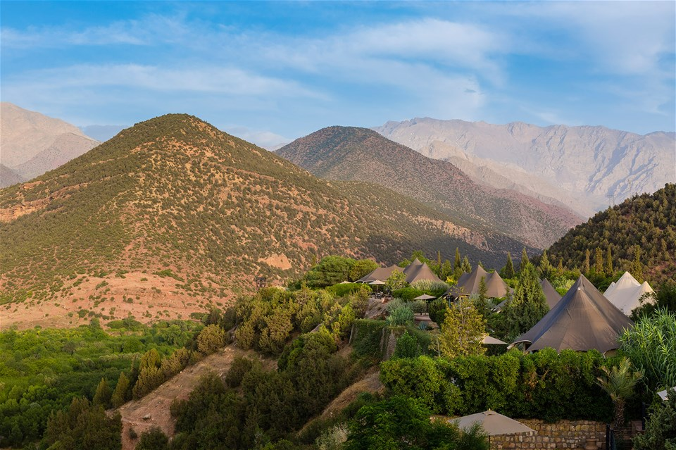hotels in high atlas mountains