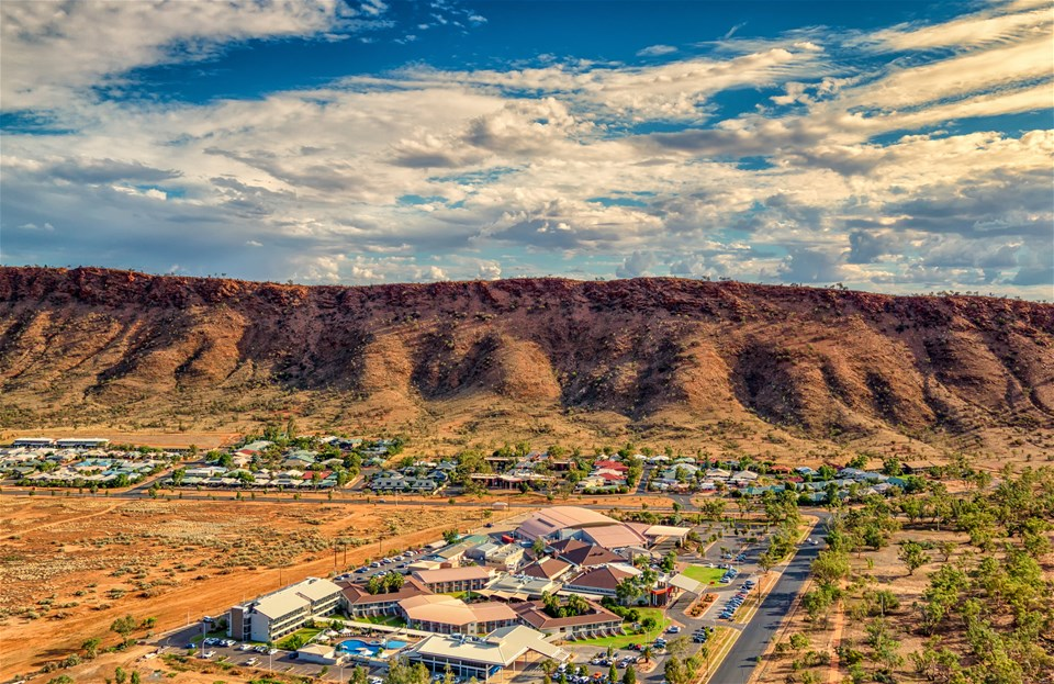 hotels in red centre