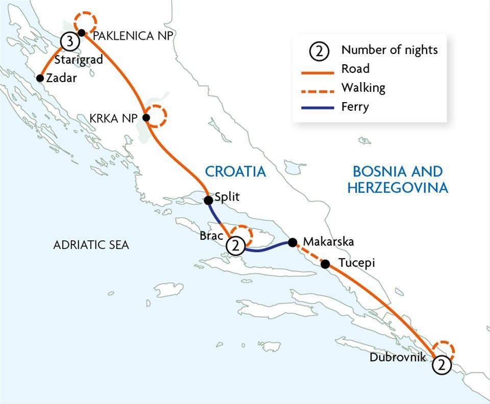 Croatia - Islands & Mountains