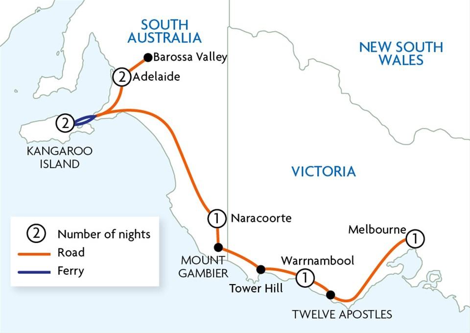 Great Ocean Road & Kangaroo Island