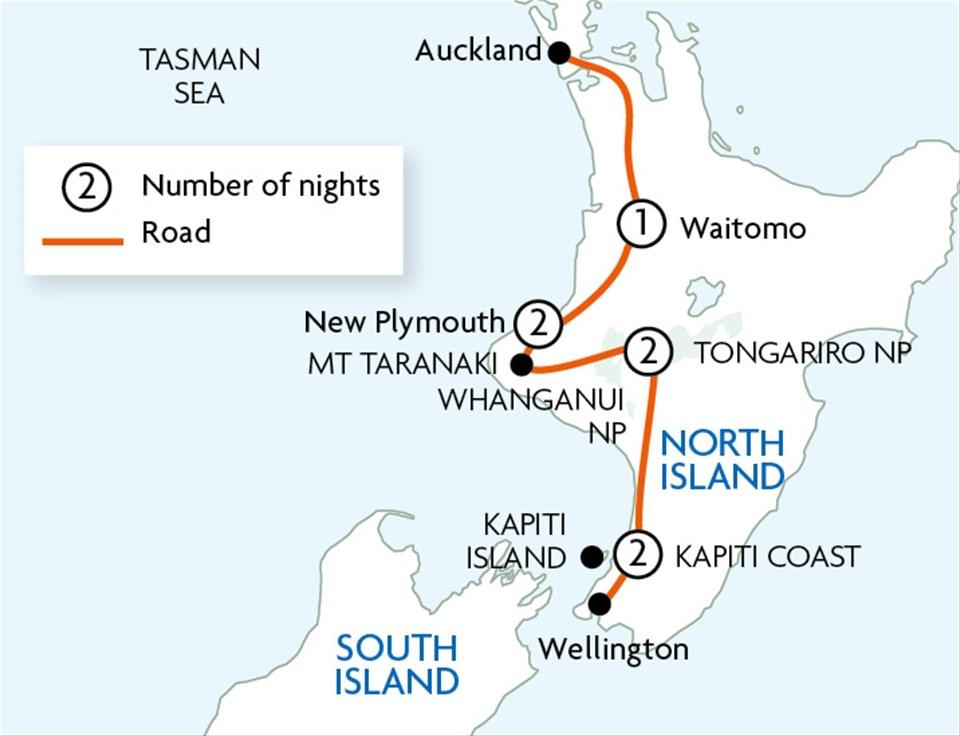 North Island Less Travelled