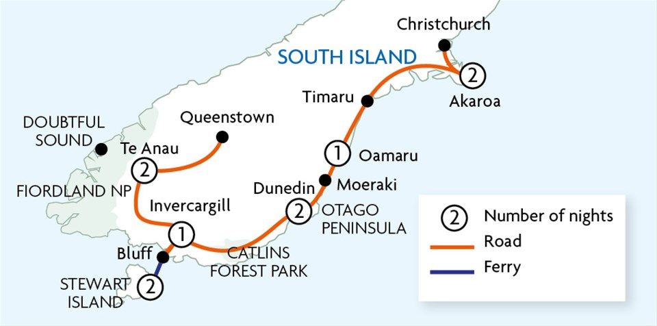 South Island Less Travelled