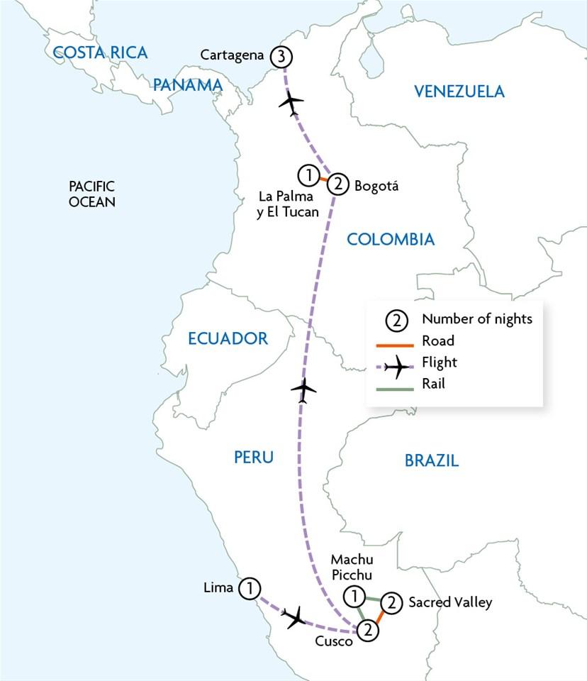 Jewels of Colombia & Peru