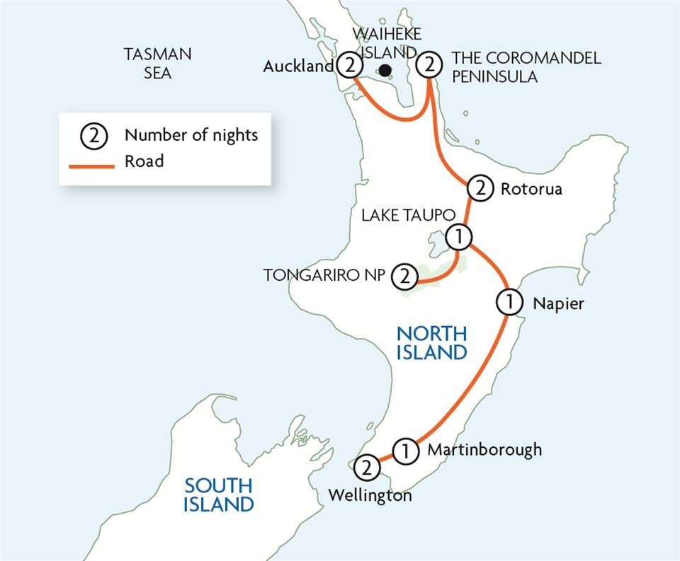 North Island Highlights