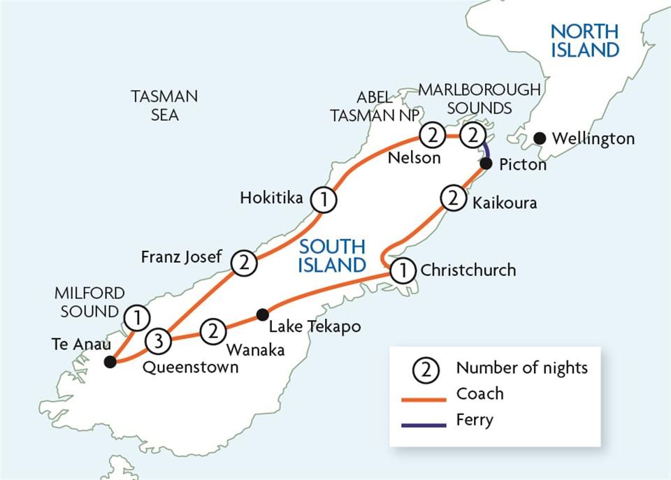 South Island Highlights