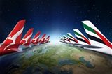 Qantas and Emirates on Sale