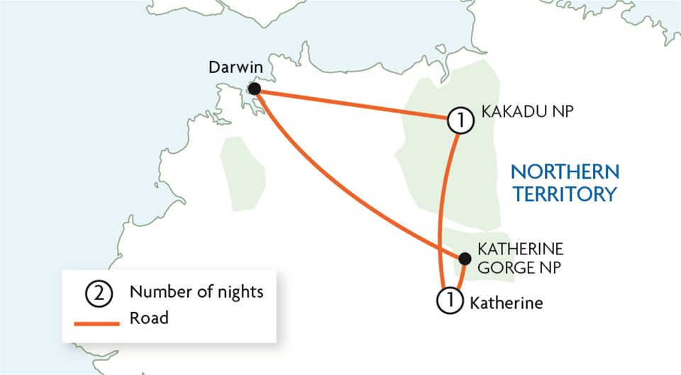Kakadu & Katherine Gorge