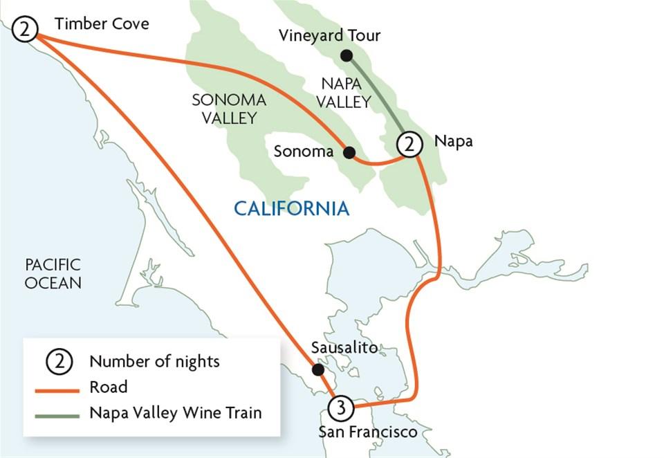 Sausalito Food And Wine Tour