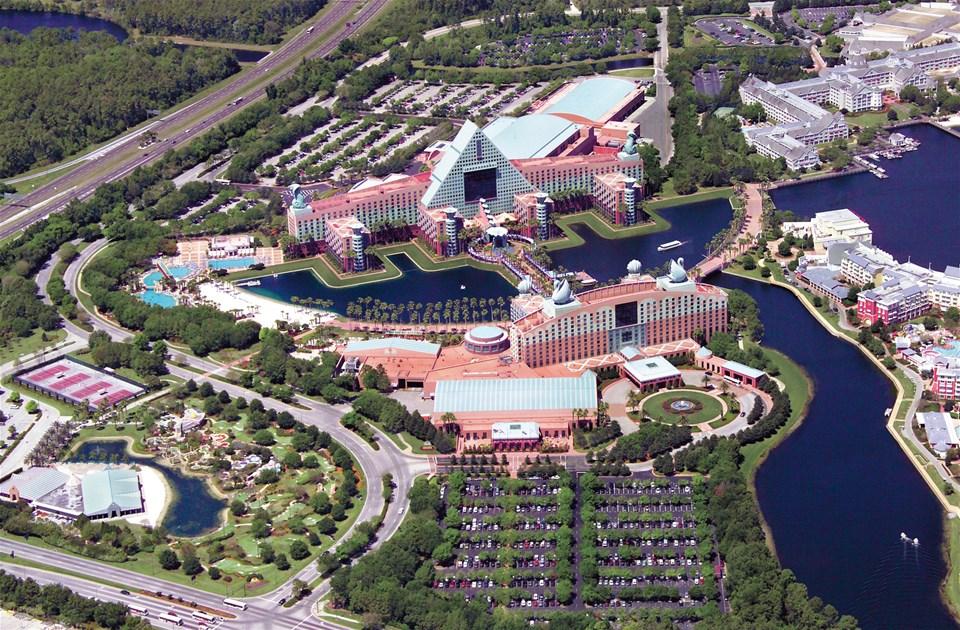 Walt Disney World Swan And Dolphin Resort Trailfinders