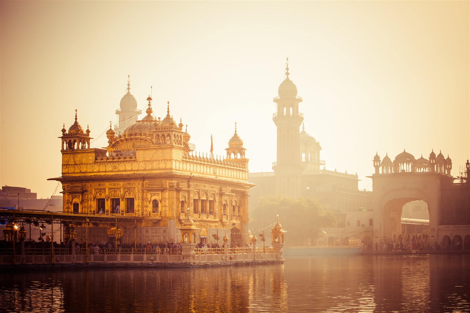 The Golden Temple Amritsar - the jewel in India's north