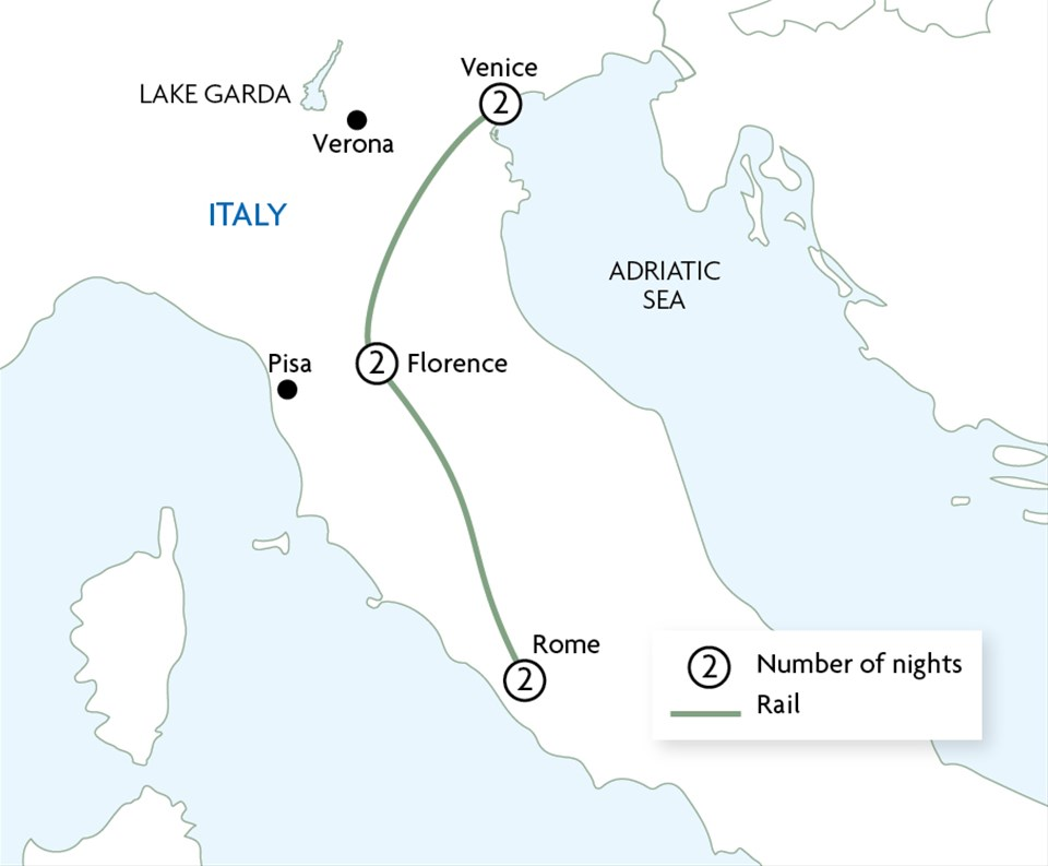 Classic Italy by Rail
