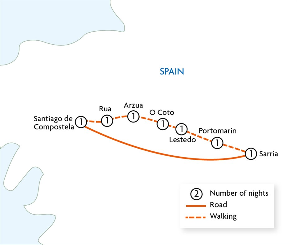Highlights of the Camino de Santiago