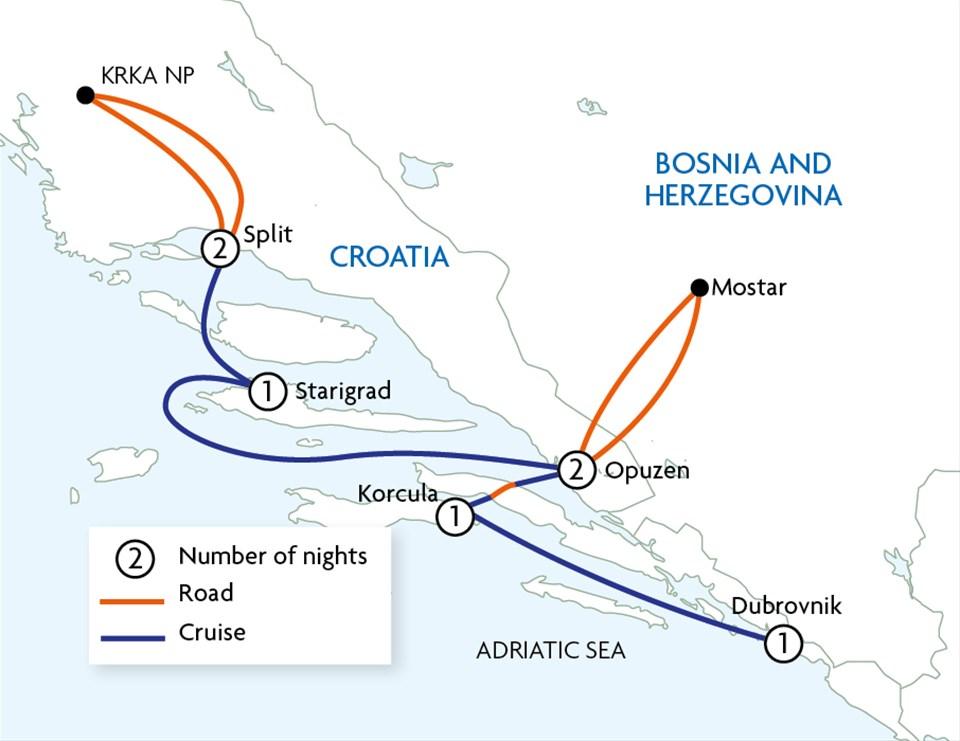Croatia Coastal Cruising