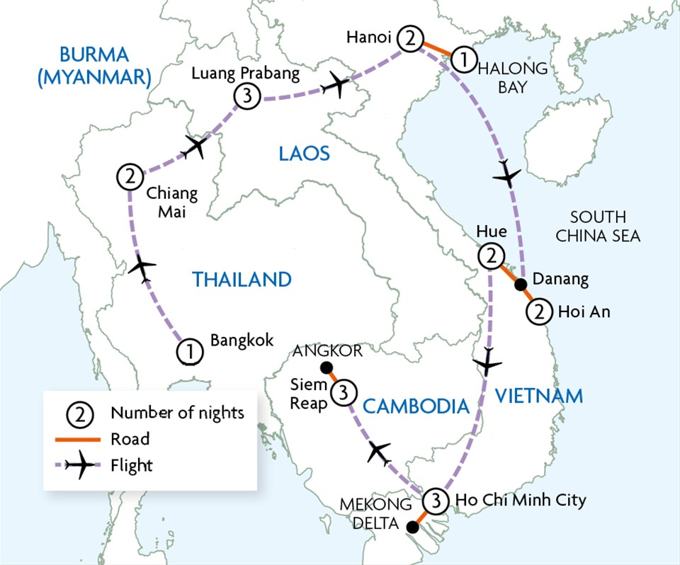 Grand Tour Of Indochina