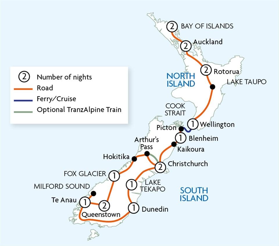 New Zealand Getaway