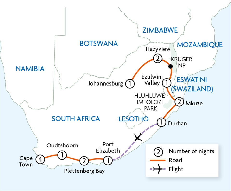Grand Tour of South Africa {Johannesburg to Cape Town}