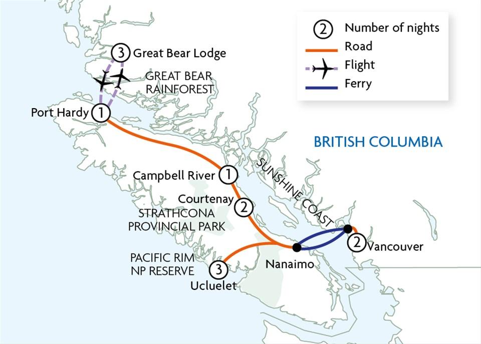 Great Bear Adventure Tour   Trailfinders