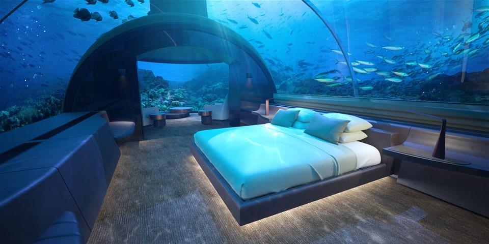 Submarines, glamping & underwater sleeping