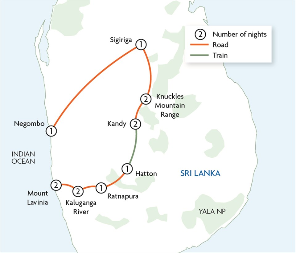 Sri Lanka Hike, Bike & Kayak