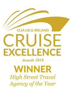 825f7d97fd We're delighted to announce that Trailfinders has won High Street Travel  Agency of the Year at the 2018 CLIA Cruise Excellence Awards.
