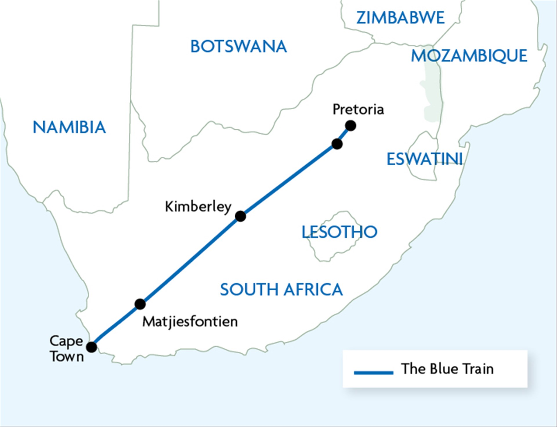 The Blue Train - Trailfinders the Travel Experts