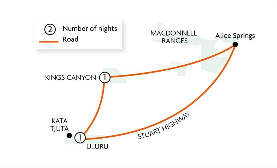 Uluru Adventure {ex Alice Springs}