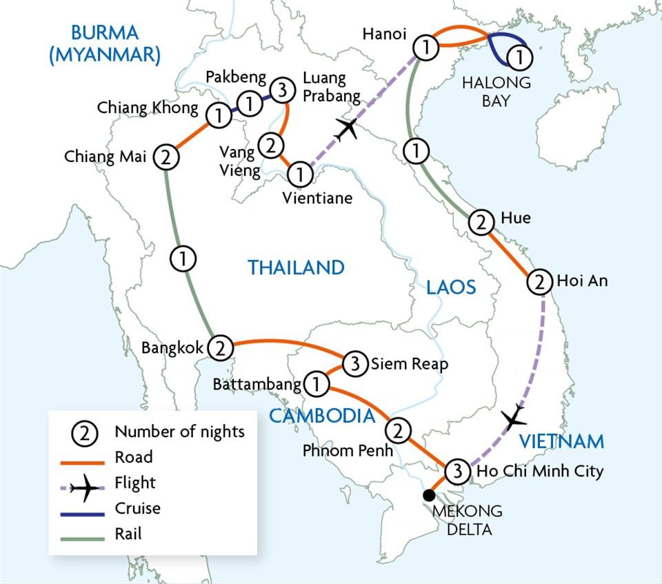 South East Asia Loop