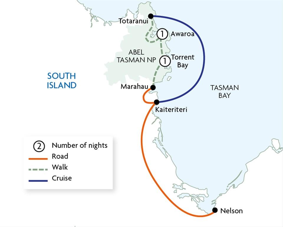 Abel Tasman Coast Track {Kaiteriteri to Marahau}